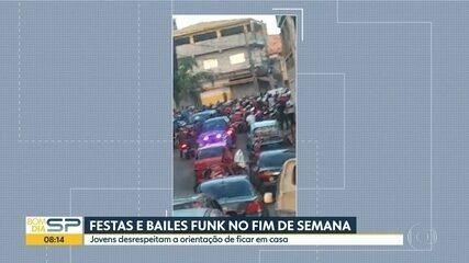Grupo desrespeita decisão e faz festa na Zona Norte de SP