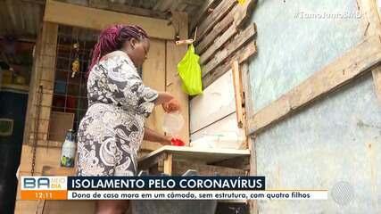 Mais de 80 mil pessoas vivem em casas de apenas um cômodo na Bahia, segundo o IBGE