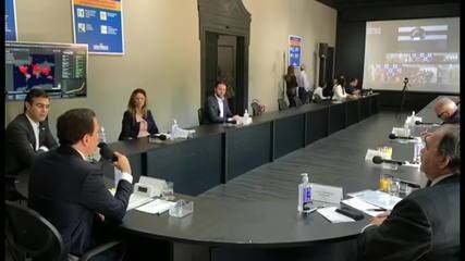 Bolsonaro e Doria trocam acusações