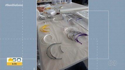 Hospital das Clínicas recebe dez protetores de face para profissionais de saúde