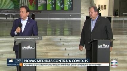 Governo do estado anuncia novas medidas para combater o coronavírus