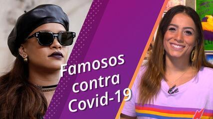 Semana Pop conta quais famosos têm ações concretas para combater coronavírus