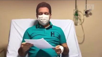 Apresentador Marcelo Magno tem alta médica e novo exame dá negativo para coronavírus