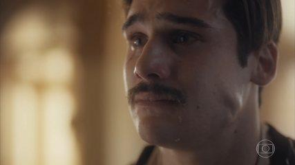 Alfredo se reconhece em Leon e questiona Inês