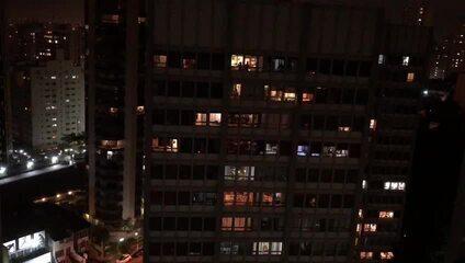 Panelaço contra o presidente Jair Bolsonaro em Perdizes, na Zona Oeste de São Paulo