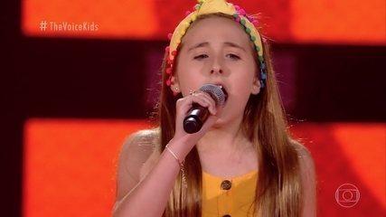 Melhores Momentos Audições ás Cegas: Sophia Marie canta 'Rolling In The Deep'