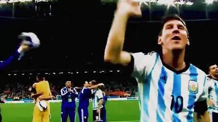 """Federação argentina cita ídolos e pede população em casa: """"Ninguém sai campeão sozinho"""""""