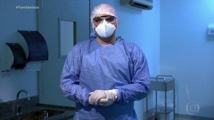Profissionais de saúde relatam falta de equipamentos de proteção; denúncias passam de 4mil