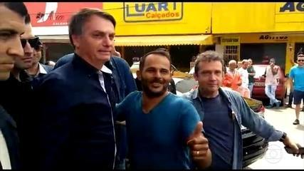 Após o ministro da Saúde defender isolamento, Bolsonaro sai pra passear em Brasília