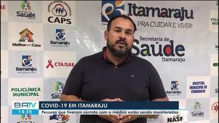 Médico é diagnosticado com Covid-19 na cidade de Itamaraju, sul do estado