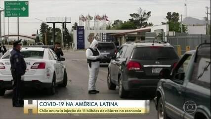 Chile anuncia a liberação de US$11 bi para aliviar impacto econômico causado pela Covid-19
