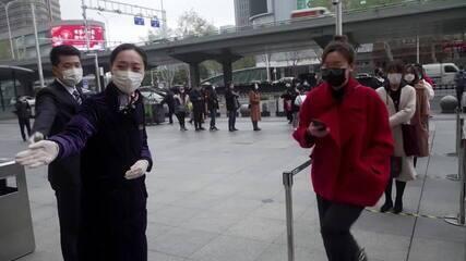 China aumenta controle de pacientes assintomáticos ao coronavírus