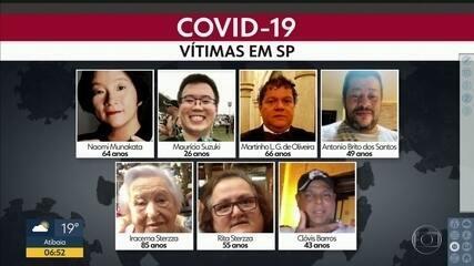 Doença já deixou 136 mortos na capital paulista; veja o perfil de algumas vítimas