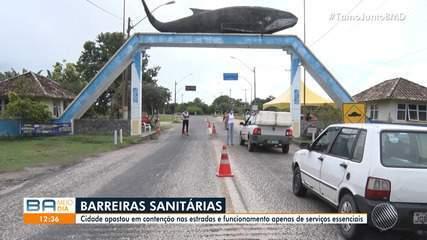 Praias de Alcobaça são fechadas para evitar a disseminação do coronavírus no município