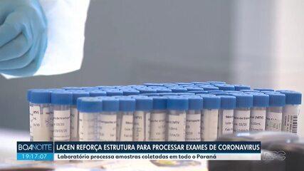 Laboratório Central do Estado reforça estrutura para fazer mais exames de coronavírus