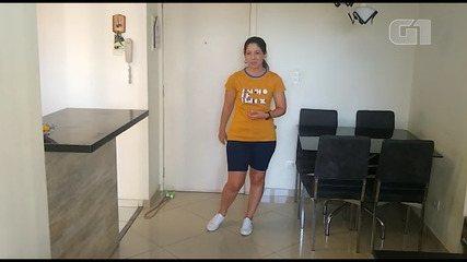 Professora do Sesc indica exercícios para as crianças