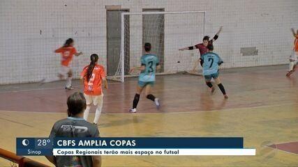Competições regionais de futsal serão ampliadas