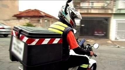 Motoboys e entregadores também estão na linha de frente durante pandemia de coronavírus