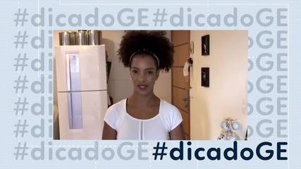 #dicadoGE: personal Eliana Santos prepara treino intensivo e criativo para quarentena