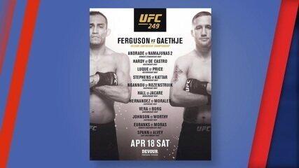 Evelyn Rodrigues traz últimas informações sobre o UFC 249, confirmado para o dia 18 de abril