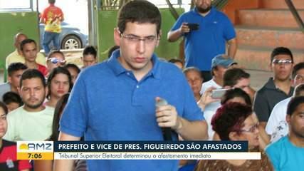 Prefeito e vice de Presidente Figueiredo, no AM, são afastados