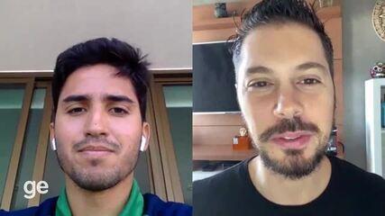 """Igor Julião torce por contratação de Fred: """"é meu ídolo no Fluminense, é um líder"""""""