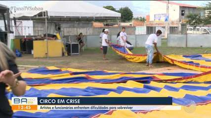 Artistas e funcionários de circo pedem ajuda para sobreviver durante pandemia