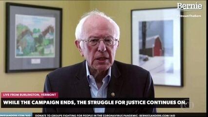 Bernie Sanders desiste de disputar indicação do Partido Democrata nas eleições americanas