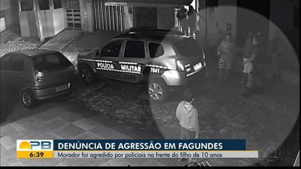 Morador denuncia agressão por policiais em Fagundes