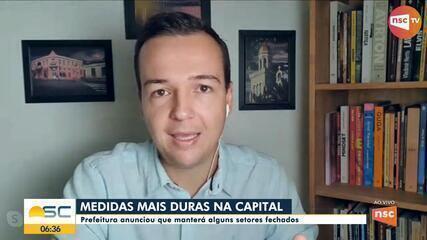 Prefeitura de Florianópolis mantém medidas de isolamentos por causa do coronavírus