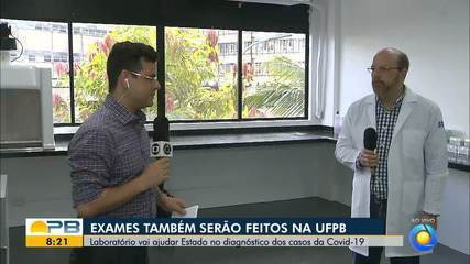 UFPB entrega primeiro laboratório de análise dos testes para o coronavírus