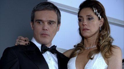 Tereza Cristina entra em choque ao ver Íris em sua festa