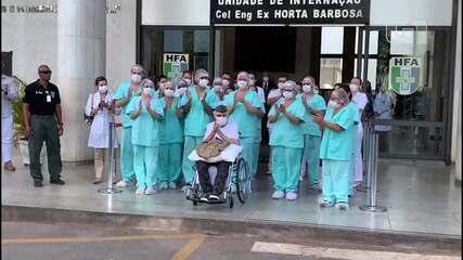 Com 99 anos, veterano da 2ª Guerra é mais velho a se recuperar da Covid-19 no Brasil
