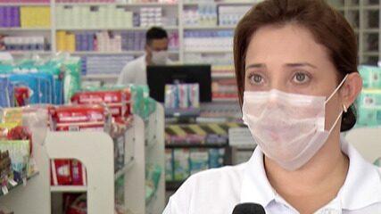 Farmácias adotam novas medidas para a segurança de funcionários e clientes