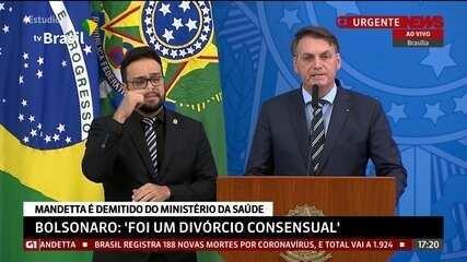 Bolsonaro: 'Remédio para curar um paciente não pode ter efeito mais danoso que a doença'