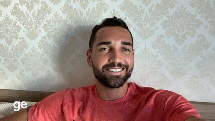 Com saudade do Bahia, jogador Gilberto fala sobre dia a dia no isolamento