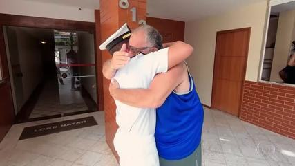 'De Volta Para Casa' promove reencontro dos marinheiros com suas famílias