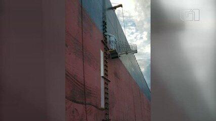 Navio atracado no Porto de Santos tem caso confirmado de coronavírus