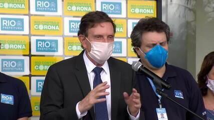 Principais emergências do Rio de Janeiro têm leitos de UTI lotados
