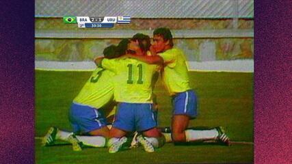 Melhores momentos: Brasil 3 x 1 Uruguai pela semifinal da Copa do Mundo de 1970