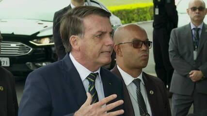 Bolsonaro defende Supremo e Congresso 'abertos e transparentes'