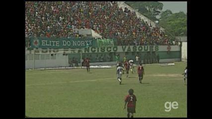 Veja lances de Tuna Luso x Vitória, pela Série C de 2006