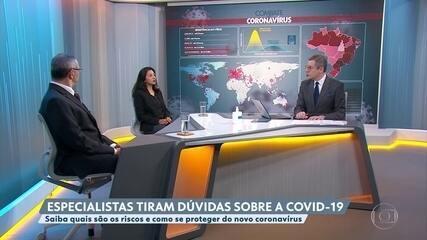 Médicos comentam a contaminação do coronavírus dentro de presídios