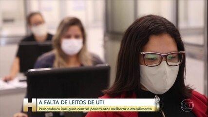 Central de regulação de leitos de UTI é inaugurada em Pernambuco para melhorar atendimento