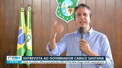 Ceará recebe esta semana parte dos 300 mil kits de teste rápido para coronavírus