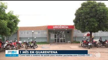 Saiba como está o sistema de saúde do Piauí após um mês de quarentena