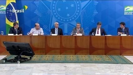 Governo anuncia plano de retomada econômica