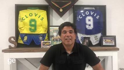Clóvis fala sobre conquista do Mundial de Futsal de 1996
