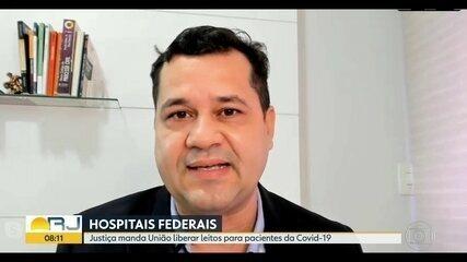 Justiça determina liberação de leitos de Hospitais Federais para pacientes com Covid-19