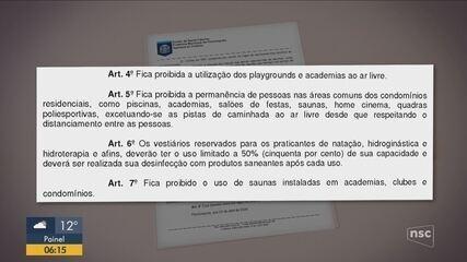Prefeito restringe serviços liberados em Florianópolis